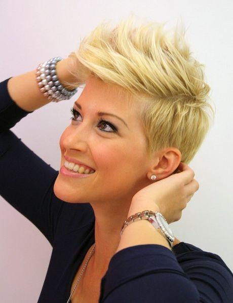 Cheveux blond court - Coupe tres courte blonde ...