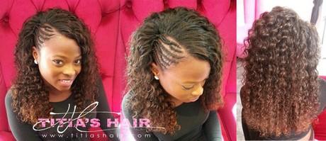 Model de coiffure tresse - Modele coupe tissage bresilien ...