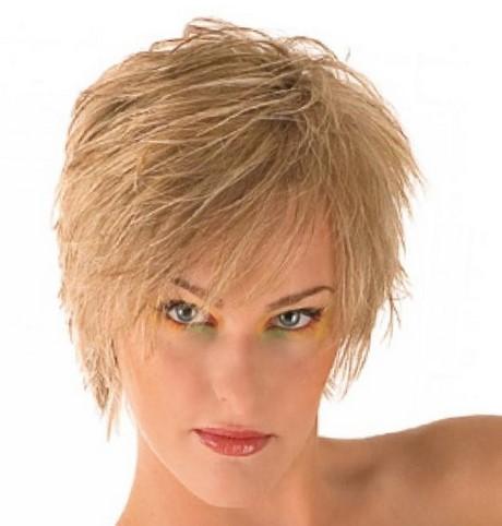 Carr Plongeant Cheveux Courts