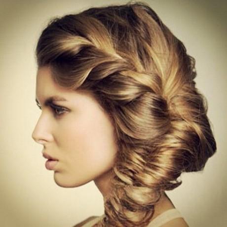 Modele coiffure soiree cheveux long