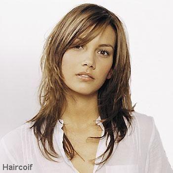 Photo coiffure degrade mi long